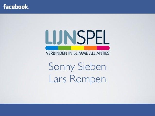 Zakelijk aan de slag met Sonny Sieben Lars Rompen