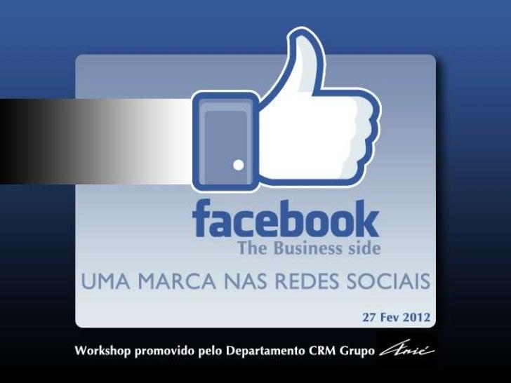Uma marca nas redes sociais                      REDES SOCIAISRedes Sociais   UMA NOVA FORMA DE COMUNICAR Números eCuriosi...