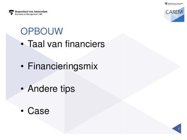 Workshop financiering passie en poen Slide 2