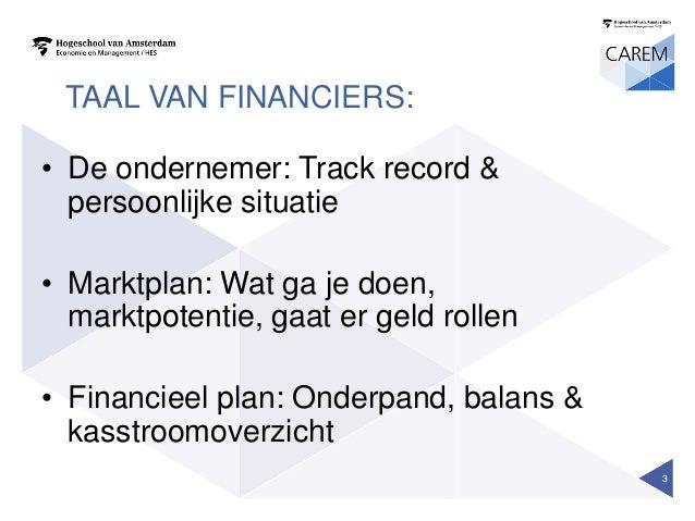 Workshop financiering passie en poen Slide 3