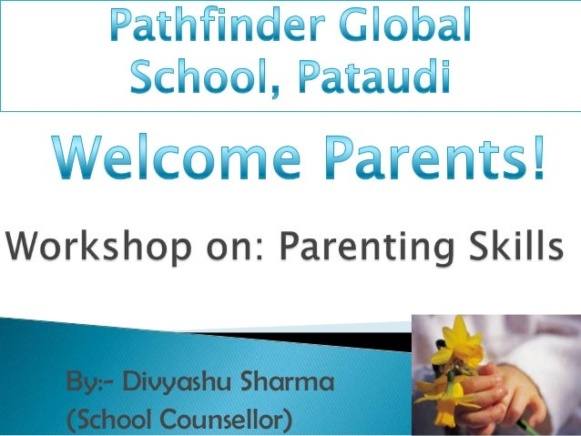 By:- Divyashu Sharma (School Counsellor)