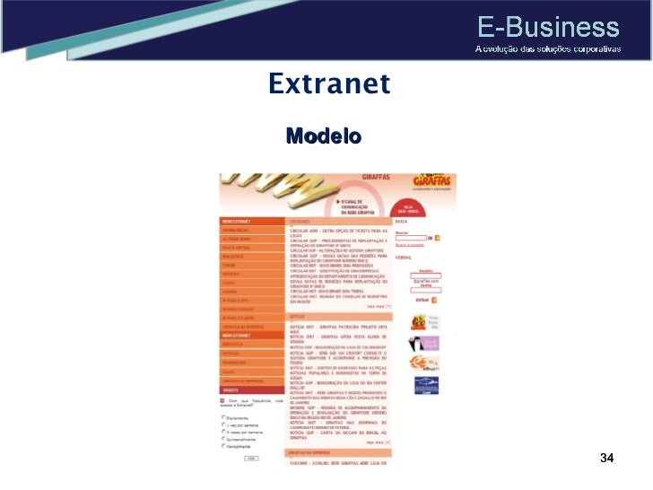 Extranet Modelo