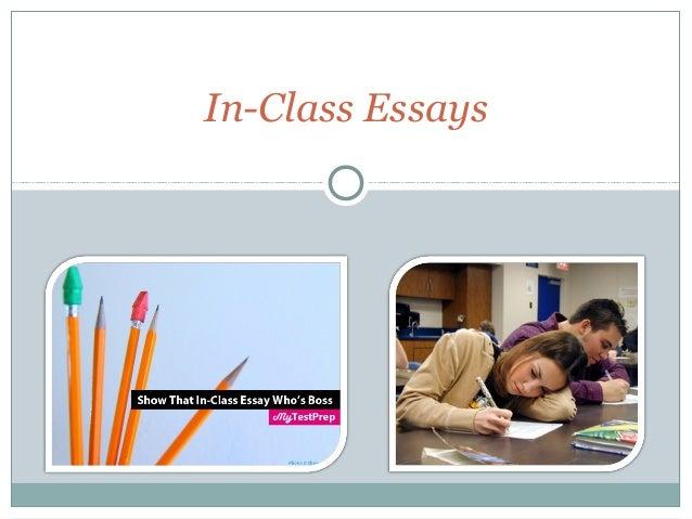 In-Class Essays