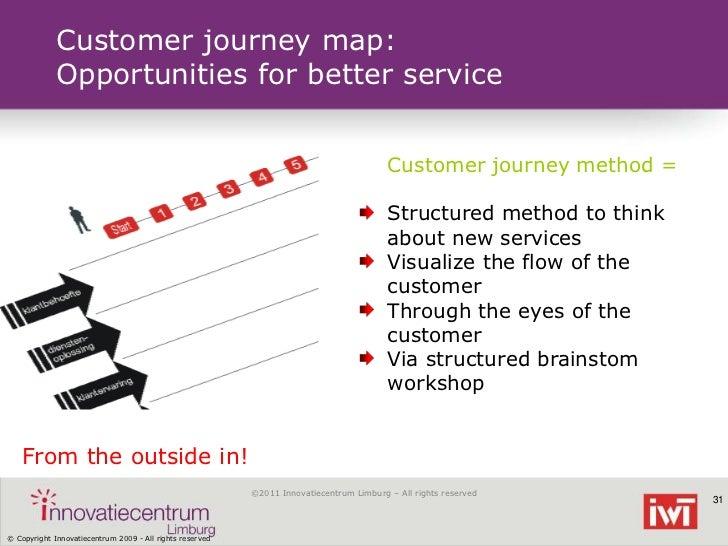 Customer journey map:             Opportunities for better service                                                        ...
