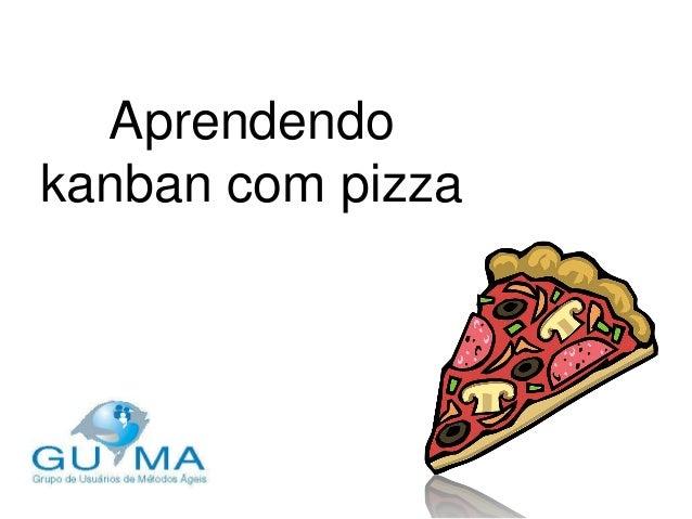 Aprendendo kanban com pizza