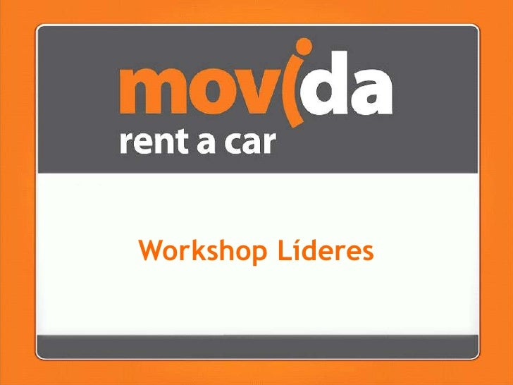 Workshop Líderes<br />