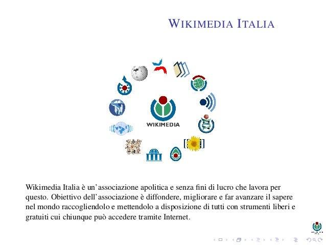 Wikipedia: una enciclopedia libera costruita dagli utenti Slide 2