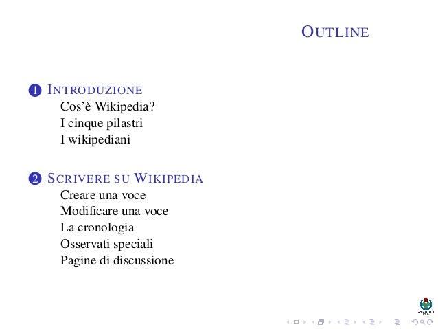 Wikipedia: una enciclopedia libera costruita dagli utenti Slide 3