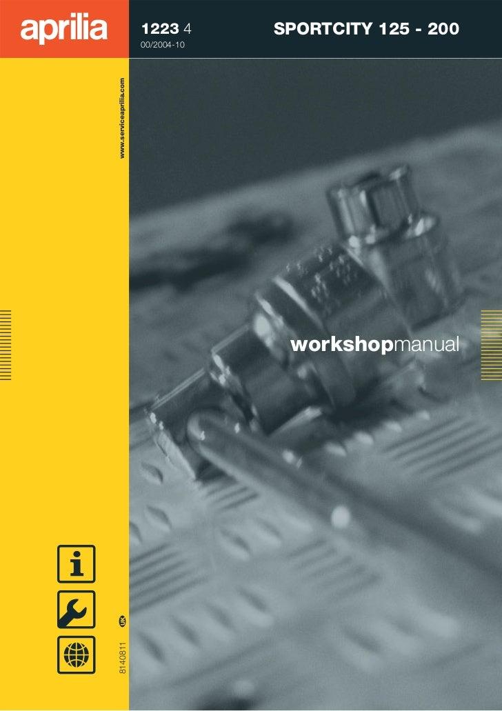 Work shop manual