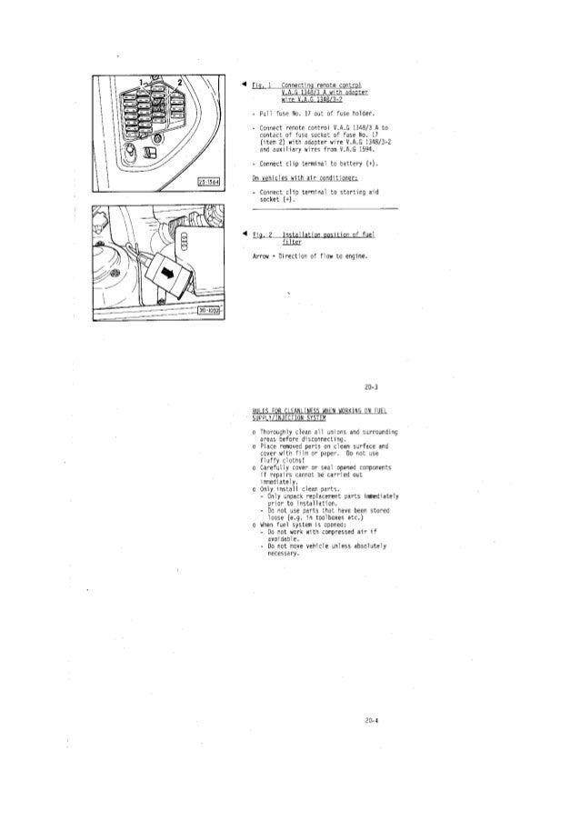 Workshop Manual Audi 100 Aan