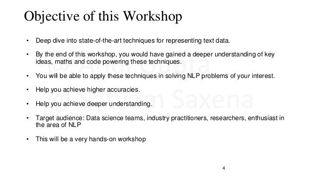 NLP Bootcamp Slide 3