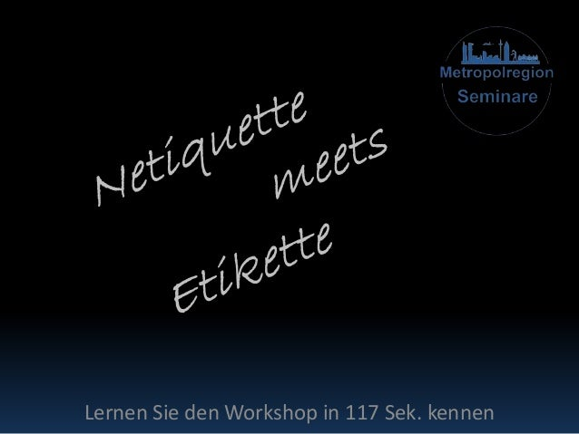Lernen Sie den Workshop in 117 Sek. kennen