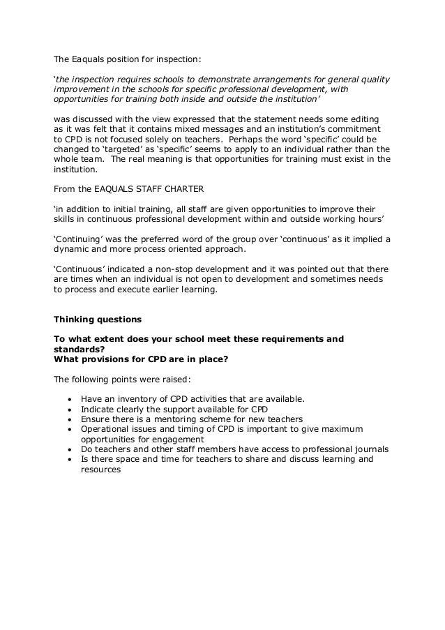 case study of continuing professional development Continuing professional development cpd is so important for professional development, so we have made our cpd forms available to everyone case study template.