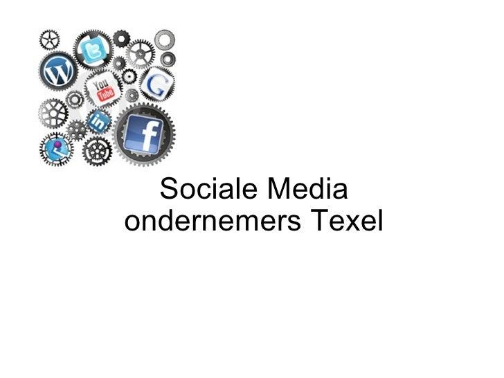Sociale Media ondernemers Texel