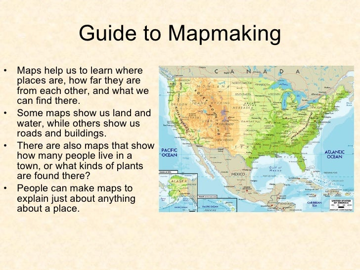 Workshop One - How do maps help us