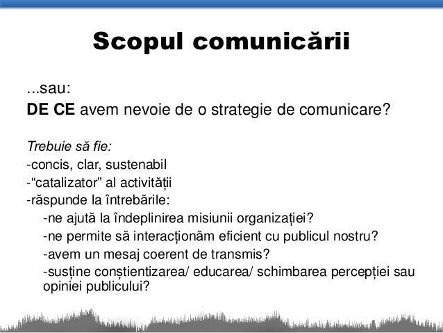 Strategii de comunicare eficienta pdf
