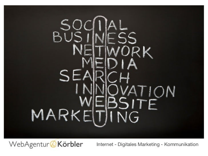 Internet - Digitales Marketing - Kommunikation