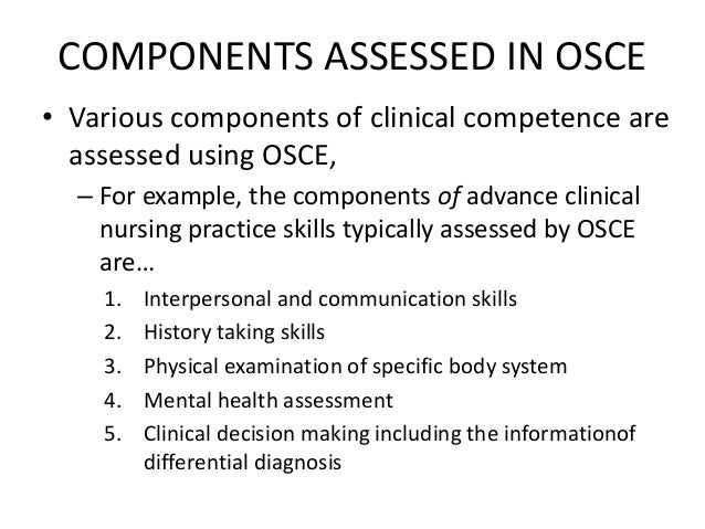 Workshop on ospe and osce