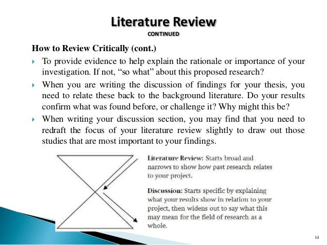 importance literature review research proposal Research proposal 3 with this in mind, i have utilized the following literature review to gain insight into the design and implementation of various structures.