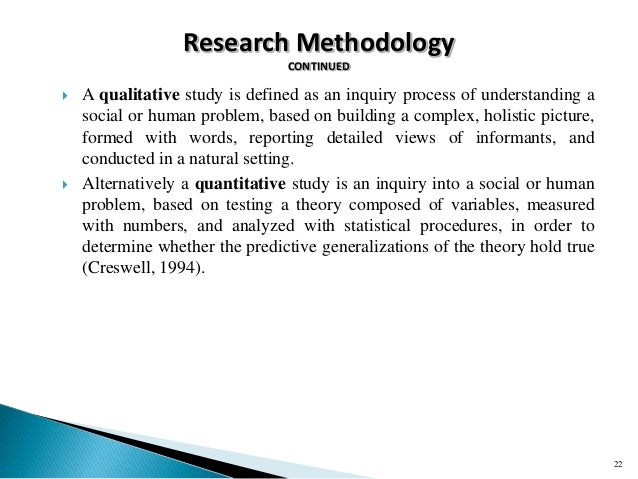 how to write methodology for qualitative research