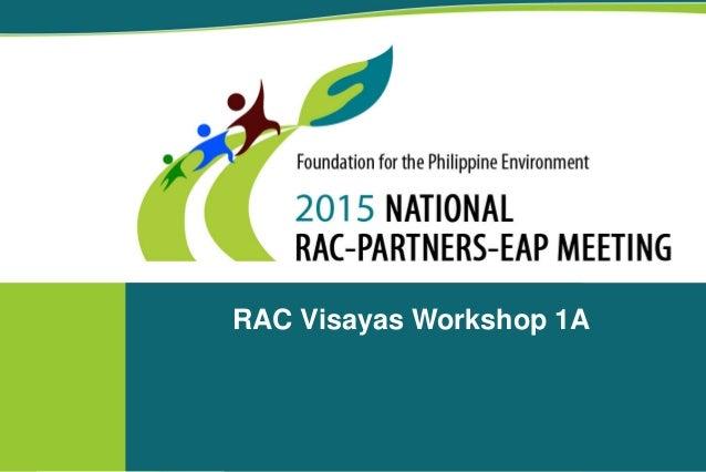 workshop 1 output rac visayas