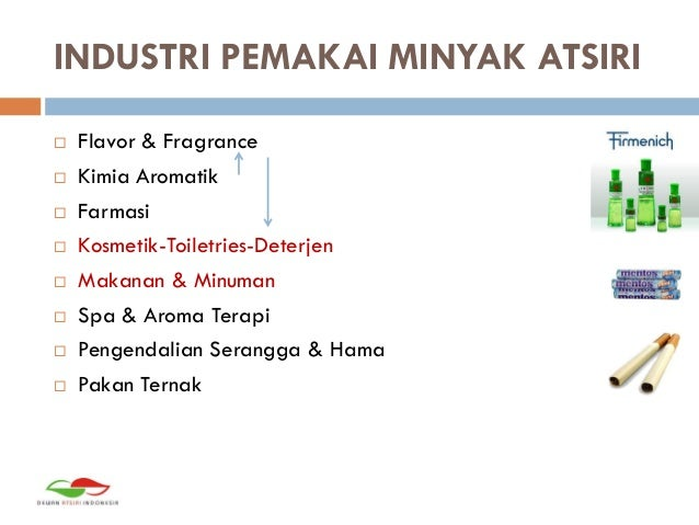Essentail Oil Market in Indonesia by Arianto Mulyadi Slide 3