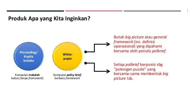 Workshop Penyusunan Policy Brief The Future Leaders dan Inovasi Manajemen ASN Slide 2