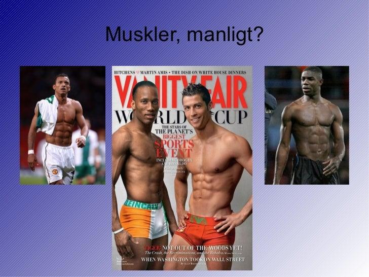 Muskler, manligt?