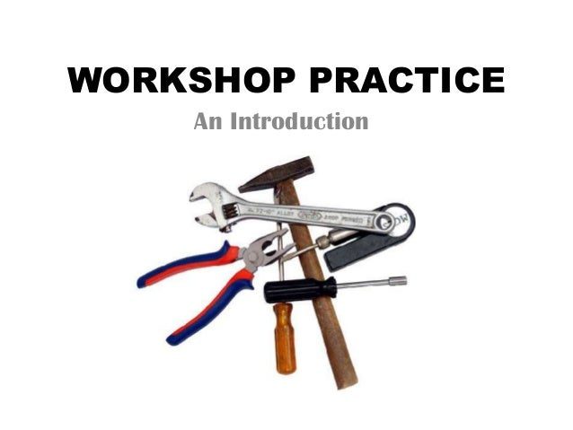 Engineering workshop carpentry practice tools pdf download