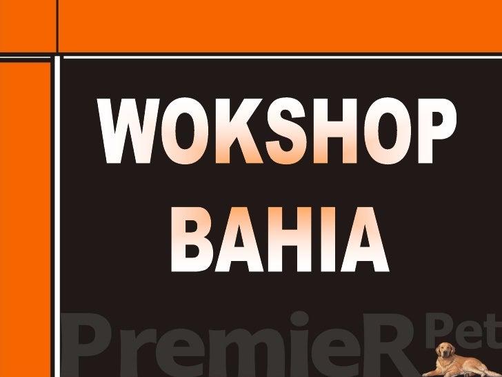 WOKSHOP<br />BAHIA<br />