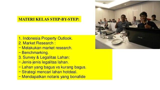 Workshop Property Mastery Indonesia - 083893922473 Slide 3