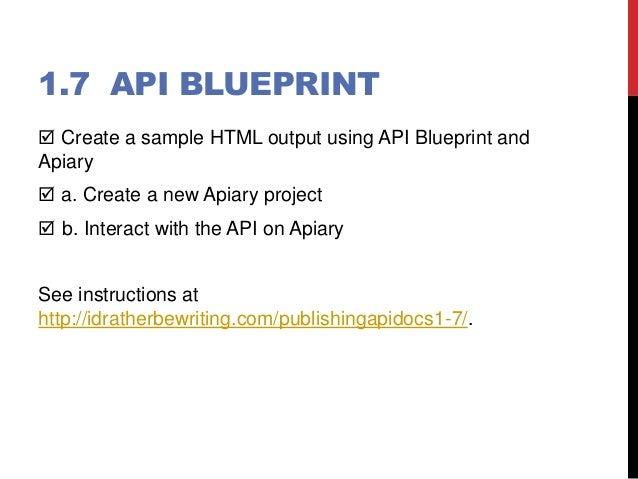 Publishing api documentation workshop blueprint 29 malvernweather Images