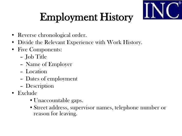 Order Chronological Resume TrendResume Resume Styles And Resume Templates  Furniture Sales Resume Breakupus Marvellous Best Resume  Job History Resume