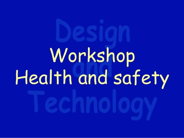 health and safety in the workshop Mental health in the workplace fostering psychological health and safety this two-day workshop aims to raise awareness and to equip participants with the skills and knowledge to promote mental health in the workplace.