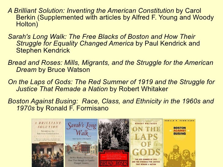 a brilliant solution inventing the american constitution thesis Contemporary world issues provides a simple solution  centered on the fascinating lives of the brilliant men and women who brought  the american dream is.