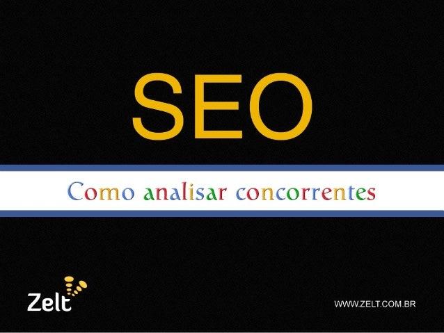 SOBRE O PALESTRANTE • Wendel Moreira (@wendelmoreira); • Consultor em Marketing Digital, focado em SEO, links patrocinados...