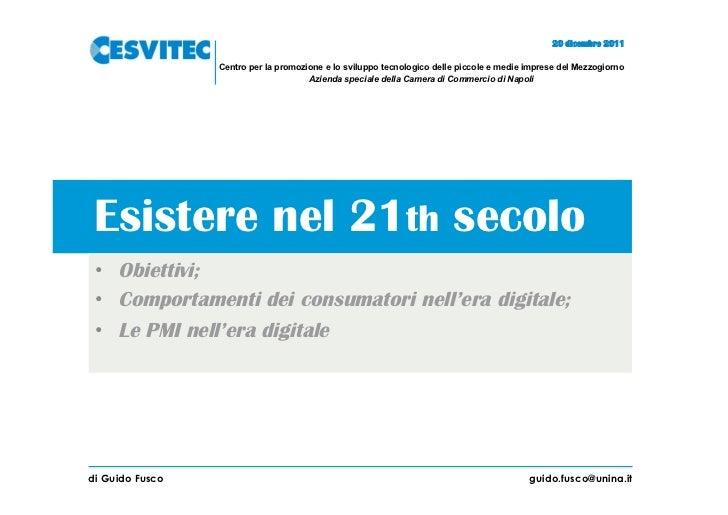 20 dicembre 2011                 Centro per la promozione e lo sviluppo tecnologico delle piccole e medie imprese del Mezz...