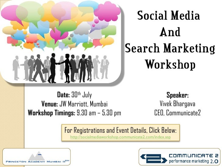 Social Media                                                  And                                            Search Market...