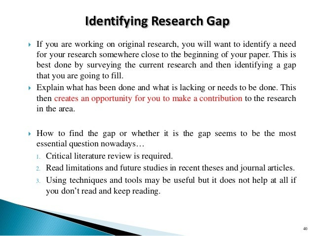 statement of research gap I had thought to explain the why my research is qualitative, that it is  trying to  come up with the problem statement and find the gap reply.