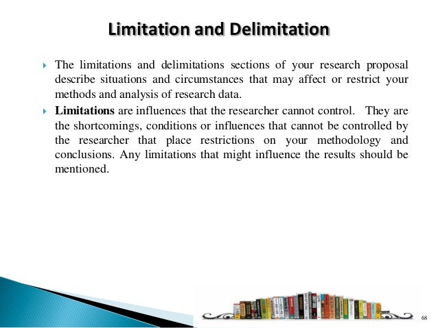 Limitation in Research Methods: Social Sciences and ...