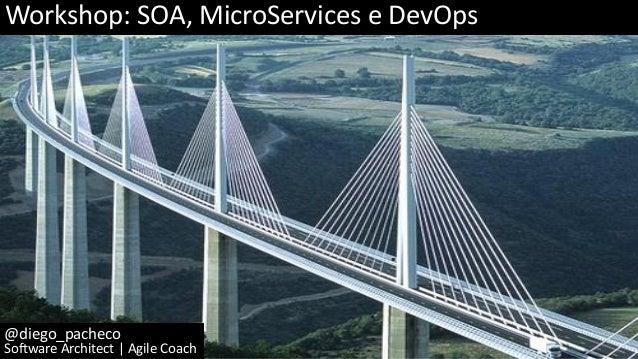 Workshop: SOA, MicroServices e DevOps @diego_pacheco Software Architect | Agile Coach