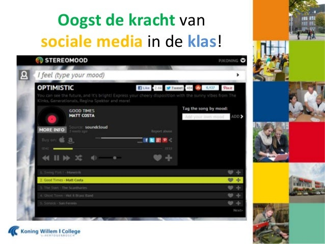 Oogst de kracht van sociale media in de klas!