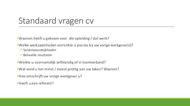 standaard vragen sollicitatie Workshop Sollicitatiegesprek | Studio Werk standaard vragen sollicitatie