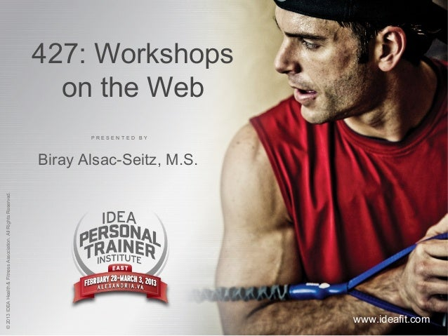 427: Workshops                                                                   on the Web                               ...