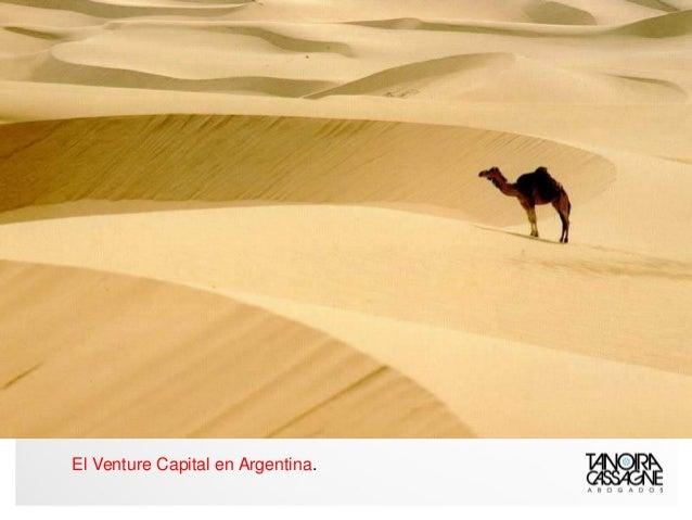 El Venture Capital en Argentina.