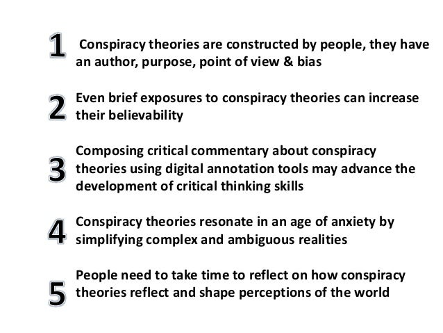 Humber college conspiracy theories and critical thinking