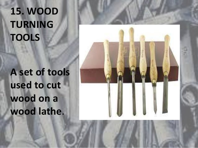 Workshop technology hand basic tools