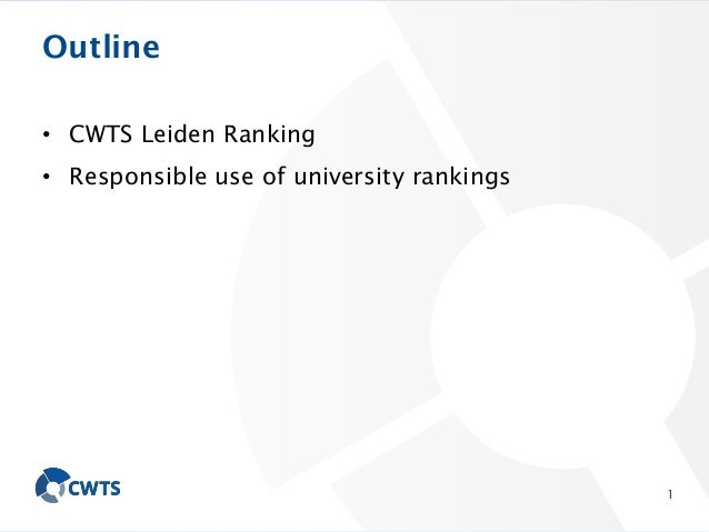 How to design a ranking system: Criteria and opportunities for a comparison Slide 2
