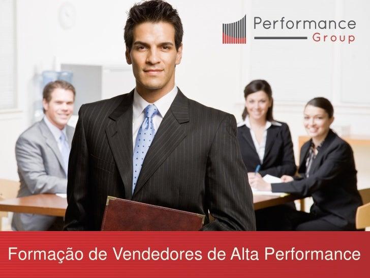Formação de Vendedores de Alta Performance