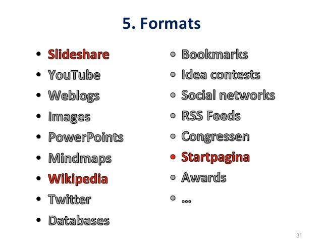 5. Formats                     31